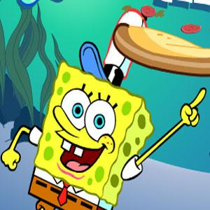 Sponge Bob Pizza Toss